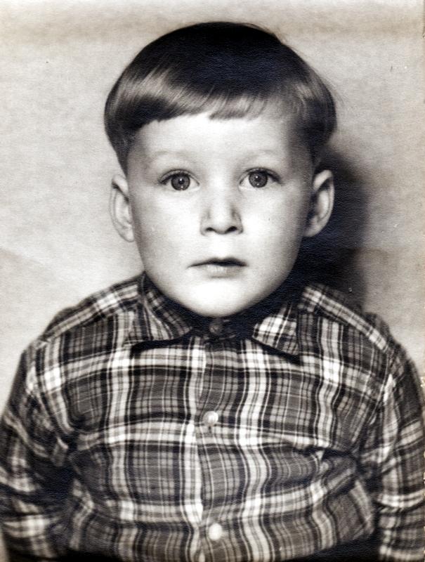 Norbert Steinke 4 Jahre alt